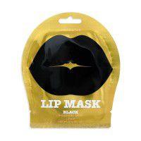 Lip Mask Black Single Pouch ( Black Cherry Flavor) - Гидрогелевые патчи для губ с экстрактом черной черешни