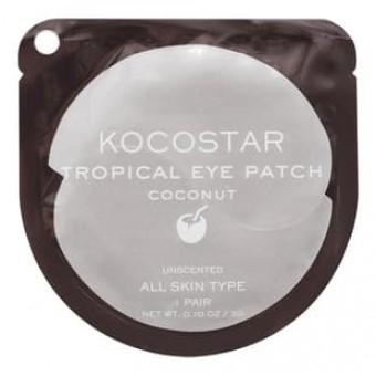 Kocostar  Tropical Eye Patch (Coconut) Single - Гидрогелевые патчи для глаз с экстрактом кокоса