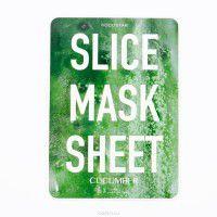 Slice mask sheet (cucumber) - Тканевые маски-слайсы с экстрактом огурца