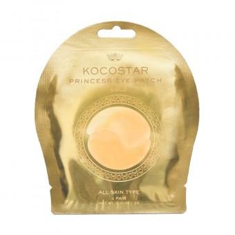 Kocostar  Princess Eye Patch (Gold) Single - Гидрогелевые патчи для глаз с коллоидным золотом