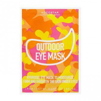 Kocostar  Camouflage Hydrogel Eye Mask - Гидрогелевые патчи для кожи вокруг глаз на тканевой основе