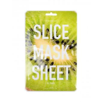 Kocostar  Slice mask sheet (kiwi) - Тканевые маски-слайсы с экстрактом киви
