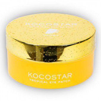 Kocostar  Tropicla Eye Patch (Mango) - Гидрогелевые патчи для глаз с экстрактом манго