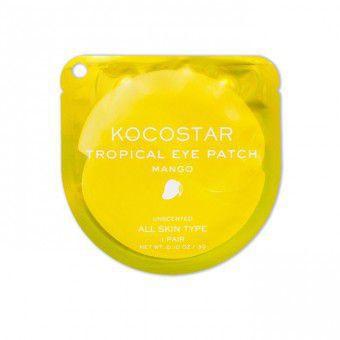 Kocostar  Tropical Eye Patch (Mango) Single - Гидрогелевые патчи для глаз с экстрактом манго