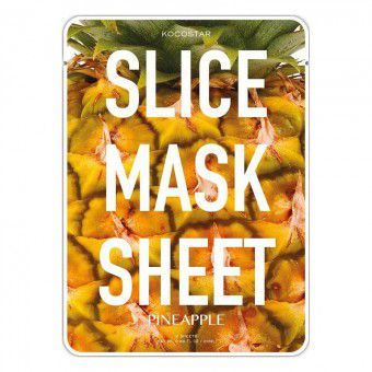 Kocostar  Slice mask sheet (pineapple) - Тканевые маски-слайсы с экстрактом ананаса