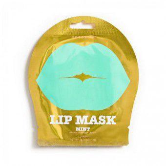 Kocostar  Lip Mask Mint Single Pouch (Green Grapes Flavor) - Гидрогелевая маска с нежным ароматом зеленого винограда