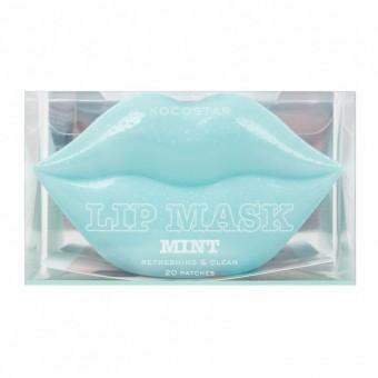 Kocostar  Lip Mask Mint Single Pouch ( Green Grapes Flavor) - Гидрогелевая маска с нежным ароматом зеленого винограда