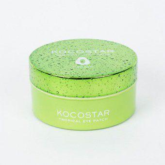 Kocostar  Tropicla Eye Patch (Papaya) - Гидрогелевые патчи для глаз с экстрактом папайи