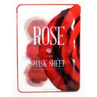 Kocostar  Slice mask sheet (rose flower) - Тканевые маски-слайсы с экстрактом розы