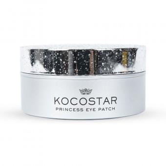 Kocostar  Princess Eye Patch (silver) - Гидрогелевые патчи для кожи вокруг глаз с коллоидным серебром