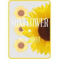 Slice mask sheet (sunflower) - Тканевые маски-слайсы с экстрактом подсолнуха