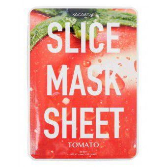 Kocostar  Slice mask sheet (tomato) - Тканевые маски-слайсы с экстрактом томата