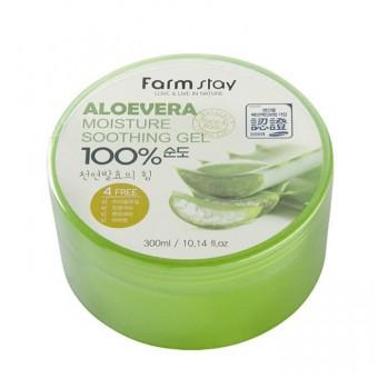 Farm Stay Aloe Vera Moisture Soothing Gel - Гель многофункциональный с экстрактом алоэ вера