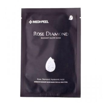 Medi-Peel Rose Diamond Radiant Glow Mask - Маска для сияния кожи с алмазной пудрой