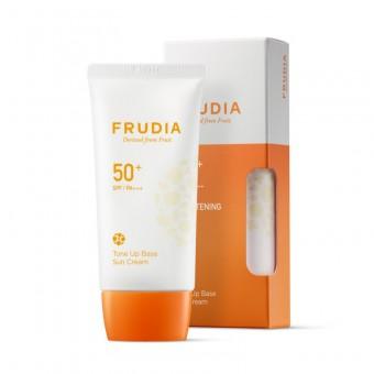 Frudia Tone Up Base Sun Cream SPF50+ PA+++ - Солнцезащитный крем-праймер с жемчужной пудрой