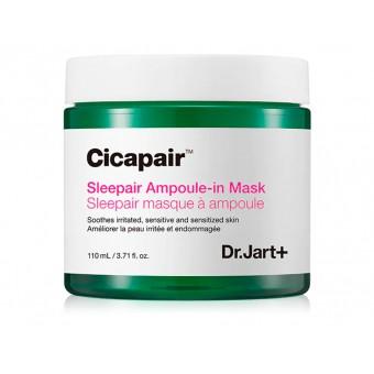 Dr.Jart+ Cicapair Sleepair Ampoule-in Mask - Маска ночная восстанавливающая с центеллой