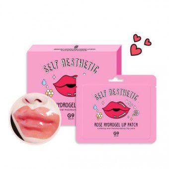 Berrisom G9 Rose Hydrogel Lip Patch - Патчи для губ