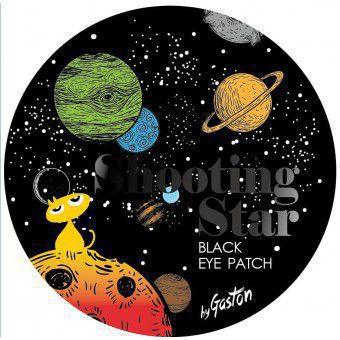 Gaston Shooting Star Crystal Eye Gel Patch Black - Тающие чёрные гидрогелевые патчи для осветления кожи вокруг глаз