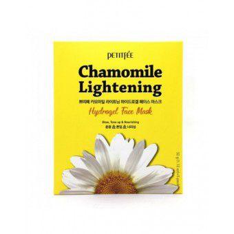Petitfee Chamomile Lightening Hydrogel Face Mask - Гидрогелевая маска для лица экстрактом ромашки