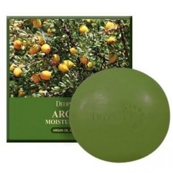 Deoproce Argan Moisture Soap - Мыло с аргановым маслом