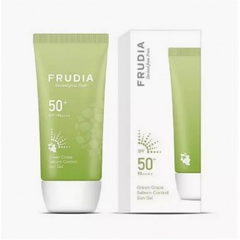 Frudia Grape sebum control cooling sun SPF50+ PA++++ - Крем-гель солнцезащитный с виноградом