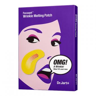 Dr.Jart+ Focuspot Wrinkle Melting Patch - Тающие патчи для носогубных складок с эффектом лифтинга