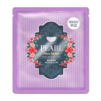Koelf Pearl & Shea Butter Hydro Gel Mask Pack - Гидрогелевая маска для лица с маслом ши и жемчужной пудрой