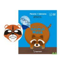 Animal Mask Series (Raccoon) - Веселая тканевая маска-мордочка (Енот)