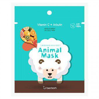 Berrisom Animal Mask Series (Sheep) - Веселая тканевая маска-мордочка (Овечка)