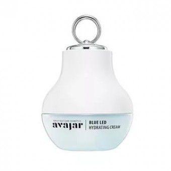 Avajar Blue LED Hydrating Cream (Special PKG) - Крем с аппликатором для глубокого увлажнения кожи с успокаивающим и смягчающим эффектом
