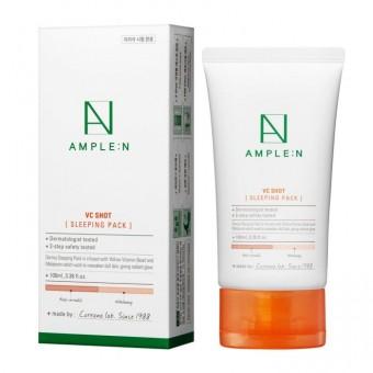 Ample:N VC Shot Sleeping Pack - Ночная маска с витамином С и антиоксидантами