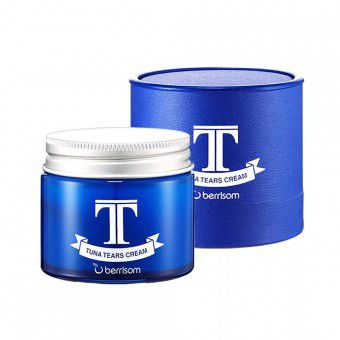 "Berrisom Tuna Tears Cream - Крем для лица увлажняющий антивозрастной ""Слеза тунца"""