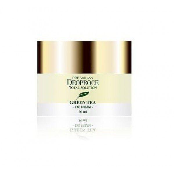 Premium Green Tea Total Solution Eye Cream - Увлажняющий крем для кожи вокруг глаз с экстрактом зелёного чая