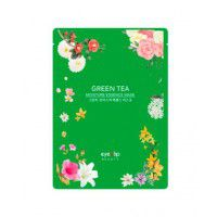 Green Tea Oil Moisture Essence Mask - Тканевая маска с экстрактом зеленого чая