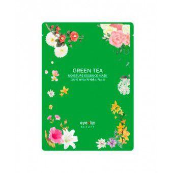 Eyenlip Green Tea Oil Moisture Essence Mask - Тканевая маска с экстрактом зеленого чая