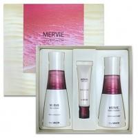 Mervie Hydra Skin Care 2 Set - Уходовый набор средств для интенсивного увлажнения