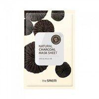 Natural Charcoal Mask Sheet - Тканевая маска с древесным углем