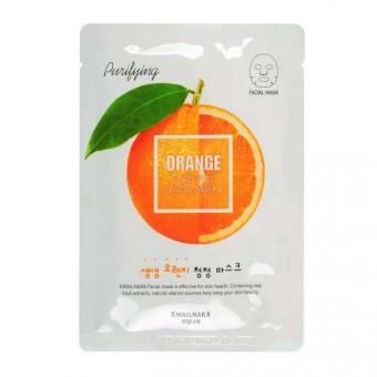 Welcos Kwailnara Orange Purifying Facial Mask - Маска для лица освежающая (Апельсин)