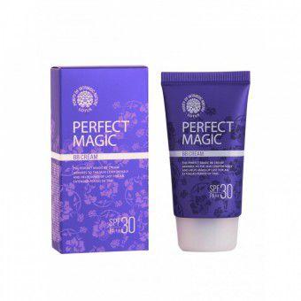 Welcos Lotus Perfect Magic BB Cream - Многофункциональный ББ крем