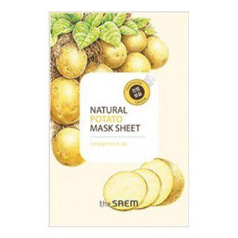 The Saem Natural Potato Mask Sheet - Маска тканевая с экстрактом картофеля