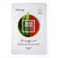 Kwailnara Watermelon Balancing Facial Mask - Маска для лица (Арбуз)