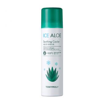 TonyMoly Ice Aloe Soothing Cooler - Охлаждающий спрей с алое
