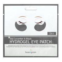 Sea Cucumber & Black Hydrogel Eye Patch (single) - Гидрогелевые патчи с экстрактом черного морского огурца