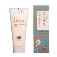 Organic Flowers Foam Cleansing Cream (Natural Fermentation) - Пенящийся крем для умывания на основе цветочных ферментов