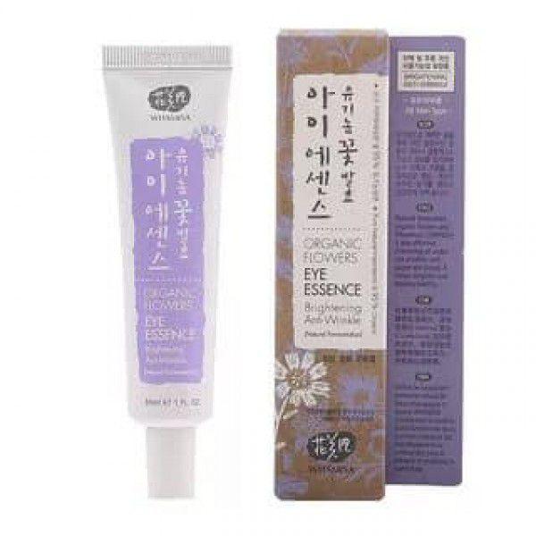 Купить Organic Flowers Eye Essence Brightening / Anti-Wrinkle (Natural Fermentation) -Эссенция для кожи вокруг глаз от морщин и потемнений на основе цветочных ферментов, Whamisa