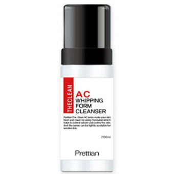 Prettian The Clean AC Whipping Foam Cleanser - Очищающая пенка для проблемной кожи