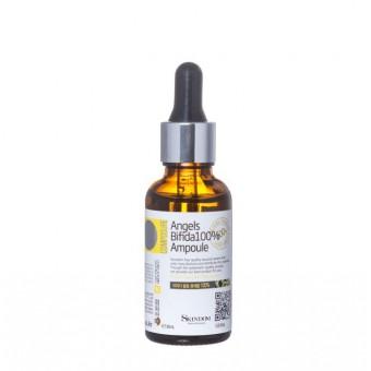 Skindom Angels Bifida 100% Ampoule - Концентрат с 100% ферментом бифидобактерий