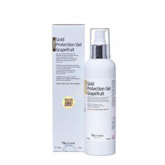 Skindom Gold Protection Gel Grapefluit - Многофункциональный гель с золотом и экстрактом семян грейпфрута