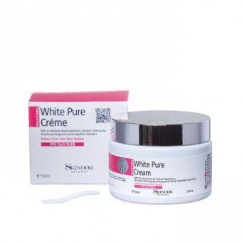Skindom White Pure Cream - Отбеливающий крем