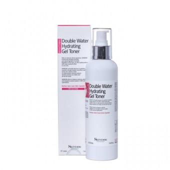 Skindom Double water hydrating Gel Toner - Многофункциональный тоник-бустер (гель) для лица